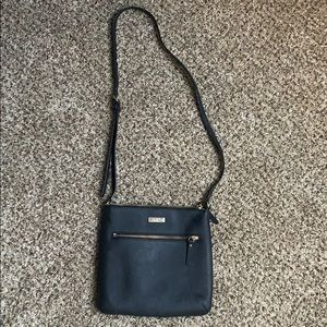 Kate spare black and gold purse
